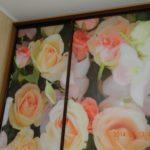 «Розы на матовом стекле»