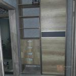 Встроенные шкафы Графит