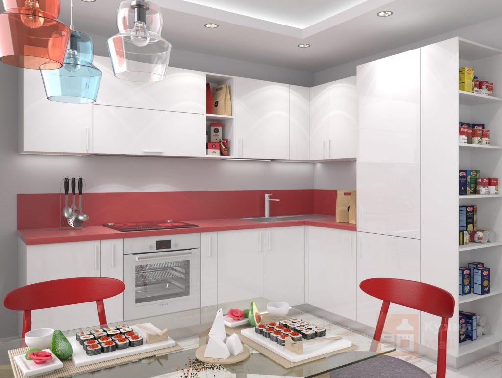 Кухня Клубничный бисквит