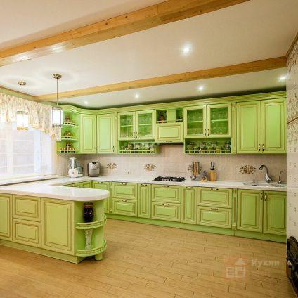 Кухня Луговая зелень