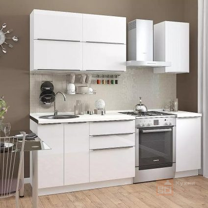 Кухня Белый дым